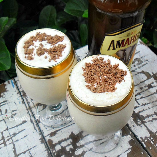 Dom Pedro ~ thick & smooth, BEST drinking dessert !