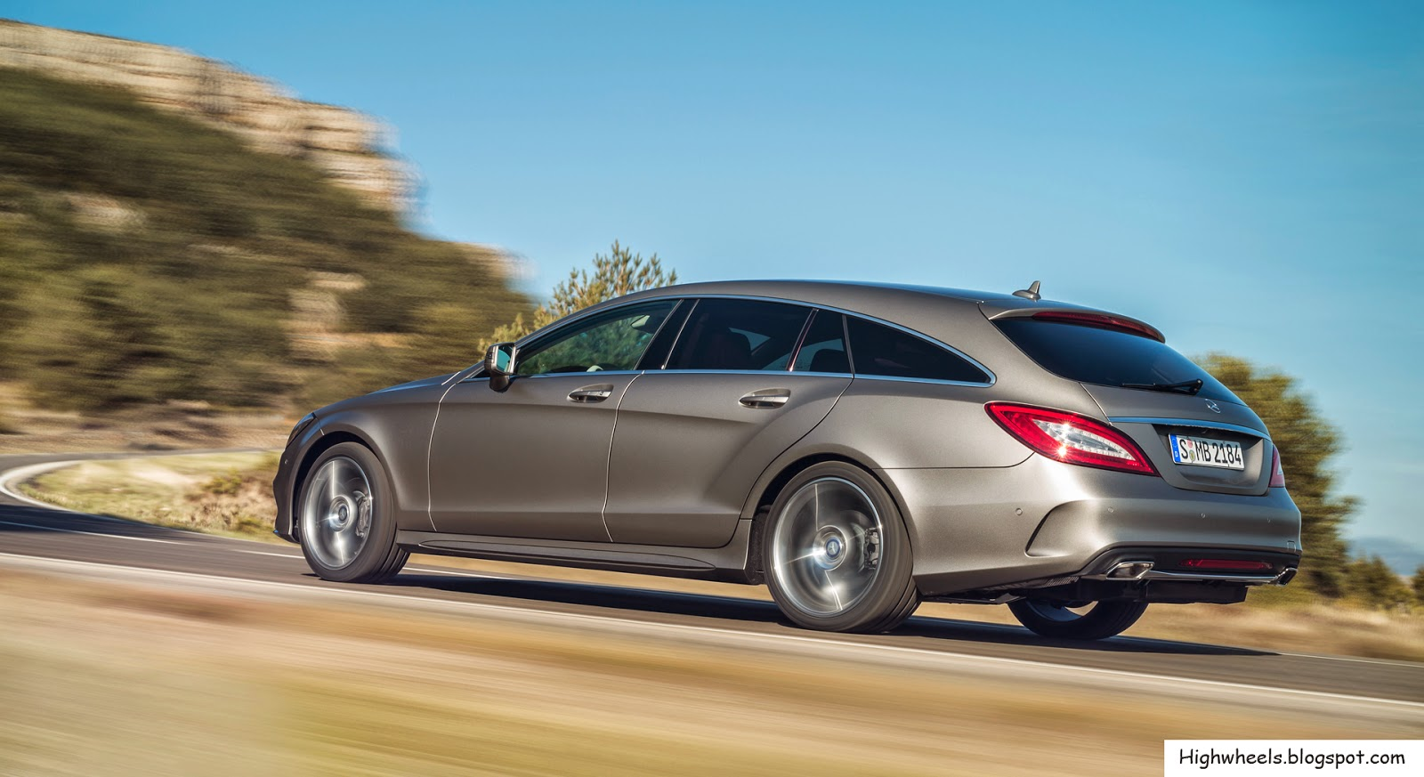 High wheels 2015 mercedes benz cls class shooting brake for Mercedes benz cls class