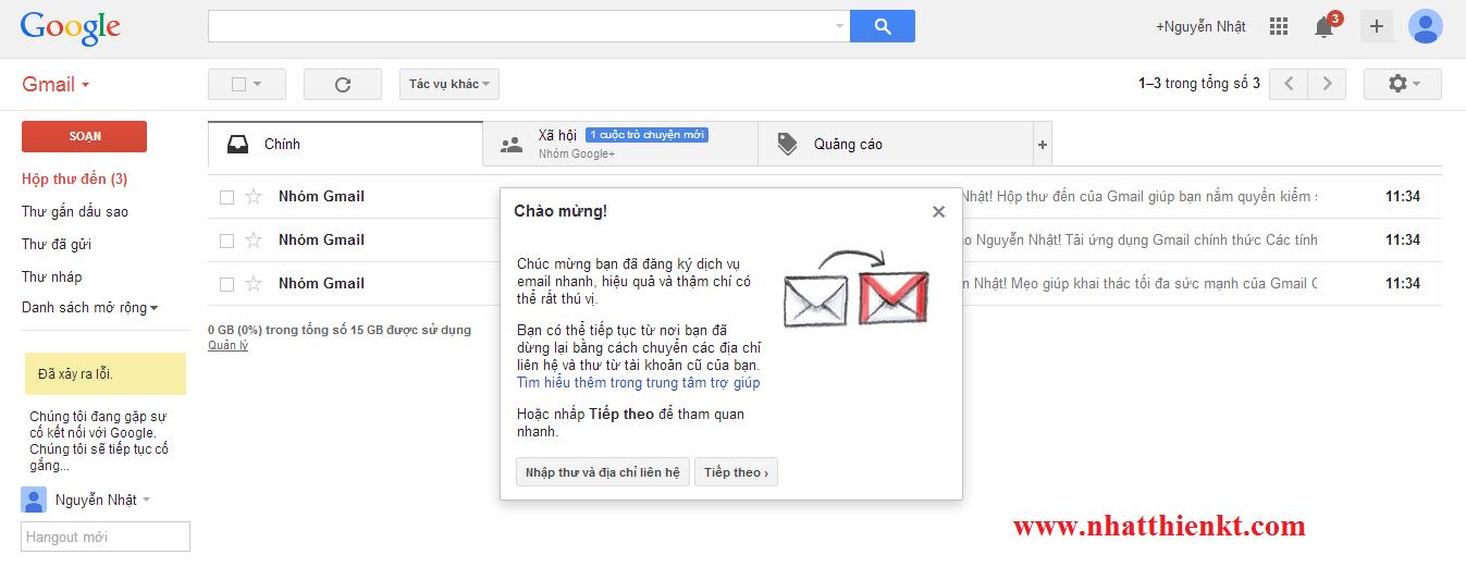 Hướng dẫn đăng ký tài khoản Gmail Google thành công 100%