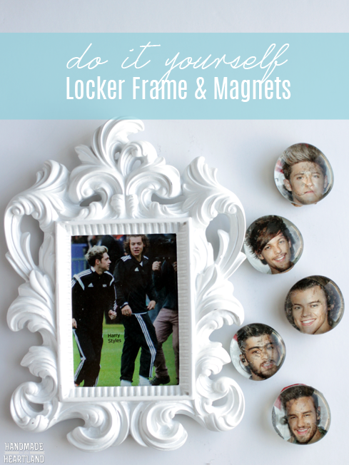 do it yourself locker frame and magnets