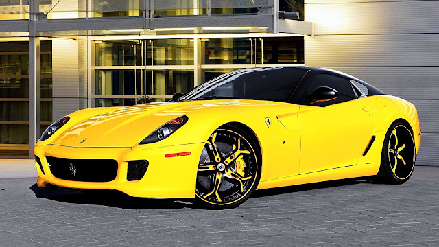 Ferrari 599 Asanti Wheels HD Wallpaper