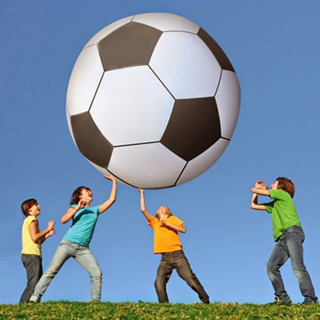 Balón de Futbol Gigante