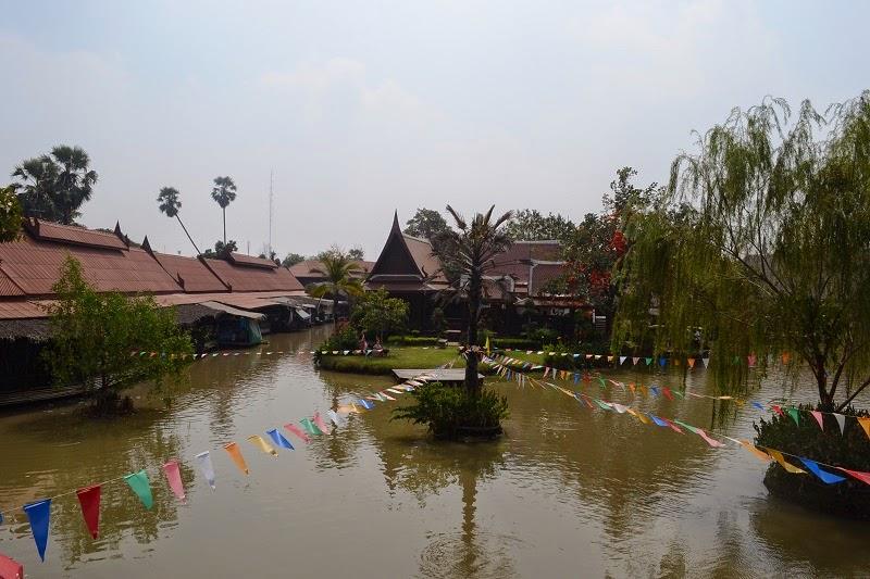 marché flottant, Ayutthaya, Thailande, Ayothaya Floating Market