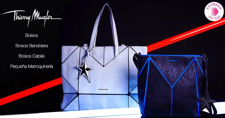 Oferta de bolsos, carteras y más de la marca Thierry Mugler