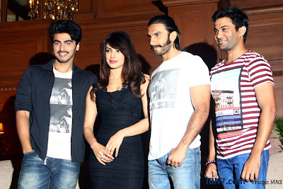 Priyanka and Ranveer at Gunday Press Meet
