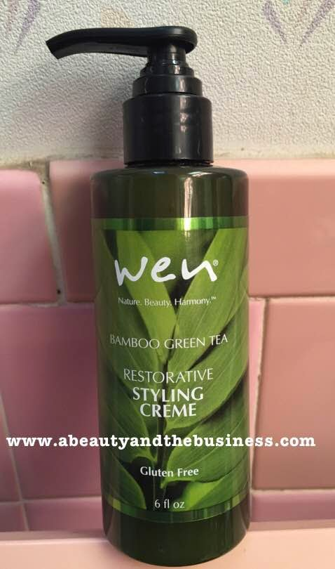 wen bamboo green tea reivew, wen bambboo green tea cleansing conditioner, wen tsv review, wen tsv, wen styling creme, wen bamboo green tea styling creme review, hair review, hair styling creme review, thin hair review, wen fine hair review, wen damage hair review,