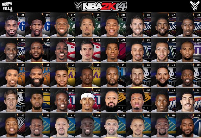 NBA 2k14 Portrait Mod : Universal Portrait Project v4.2