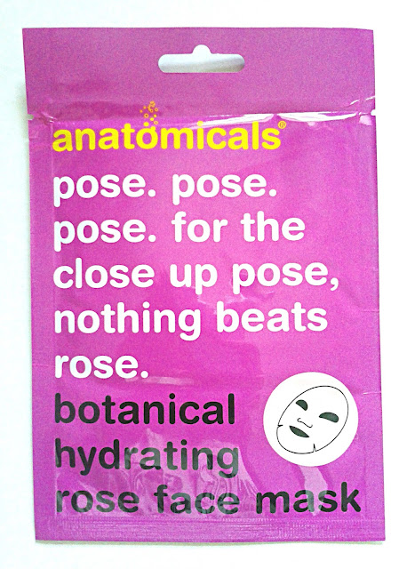 Anatomicals Botanical Hydrating Rose Face Mask