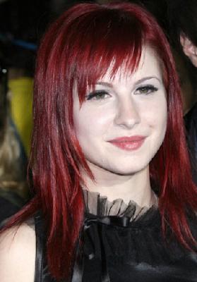 Perfecto ucranio cabello rojo