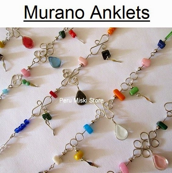 Murano Anklets