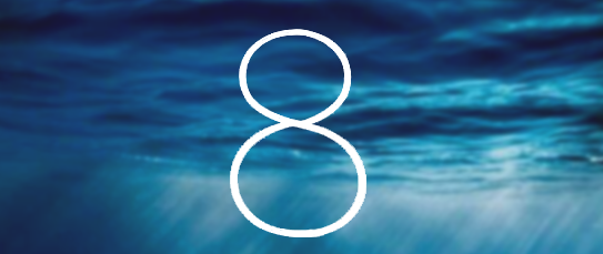 Apple iOS 8 Firmware Logo
