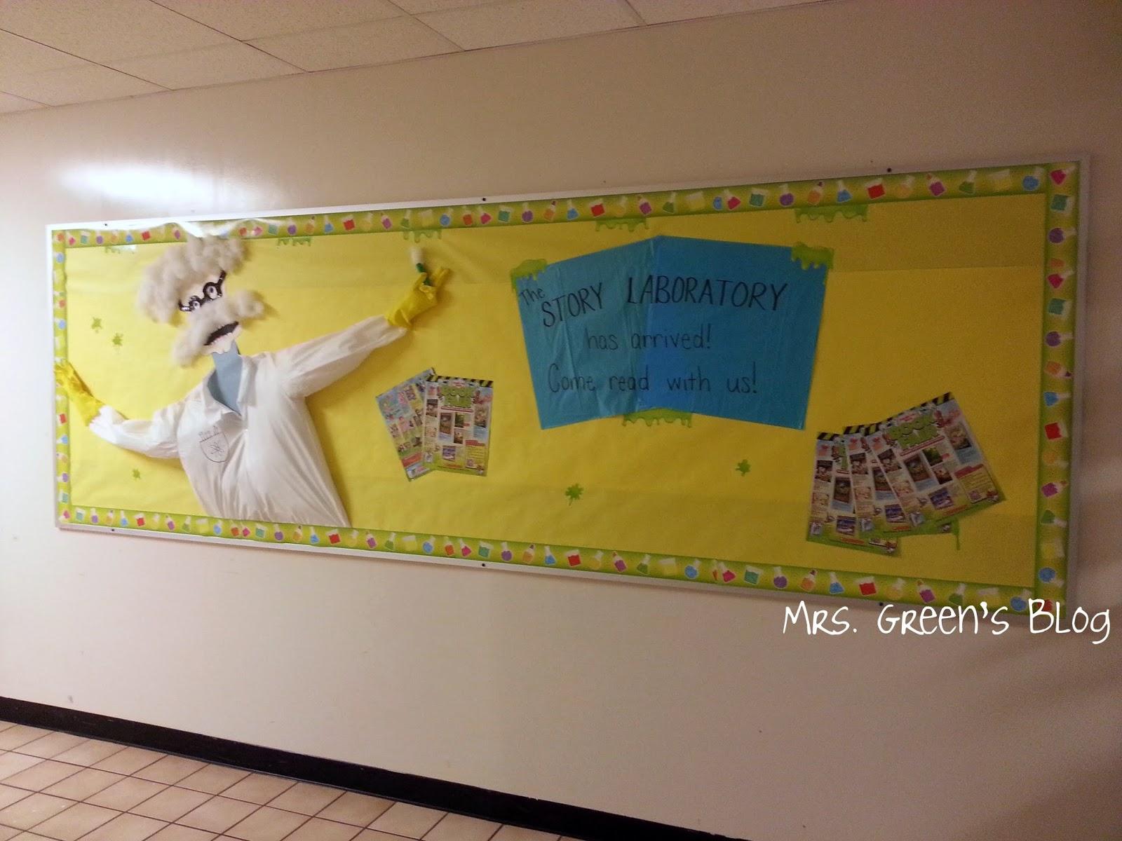 Mrs. Green\'s Blog: Book Fair: Story Laboratory science lab