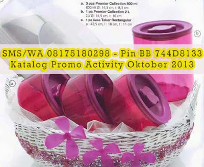 Tupperware Promo Premier Collection