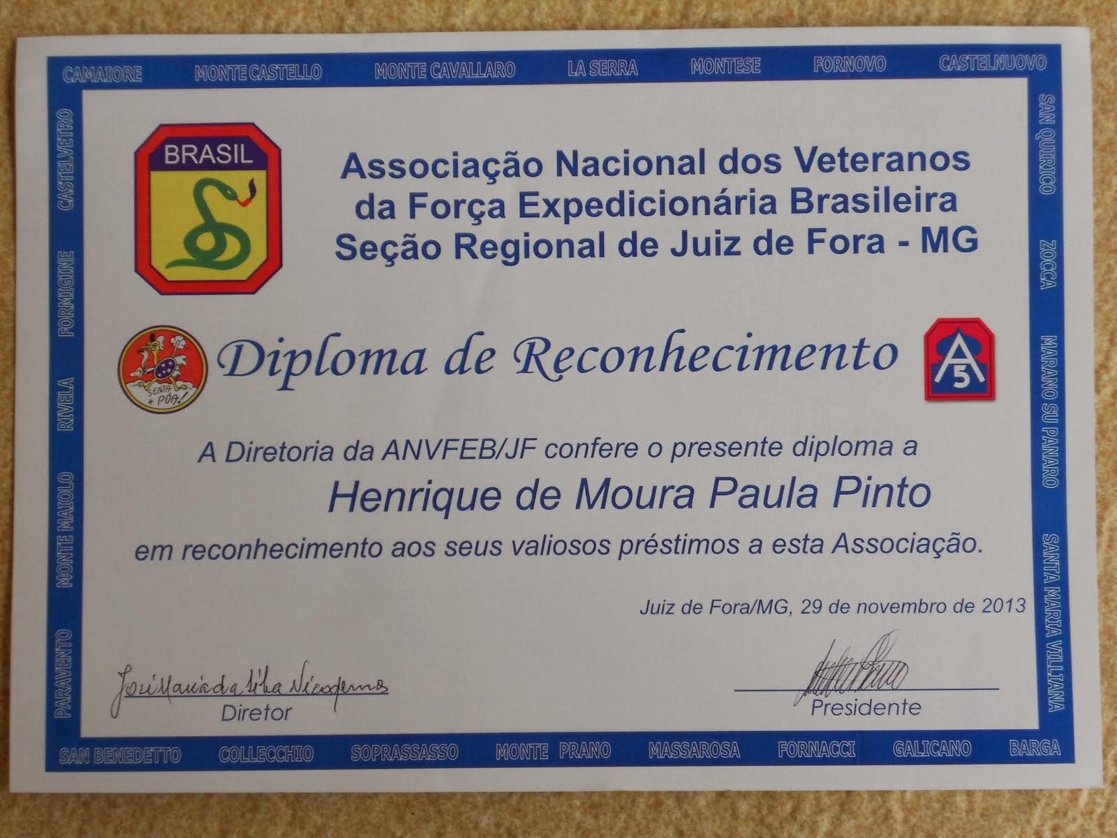 Memória da Campanha da Força Expedicionária Brasileira na Itália