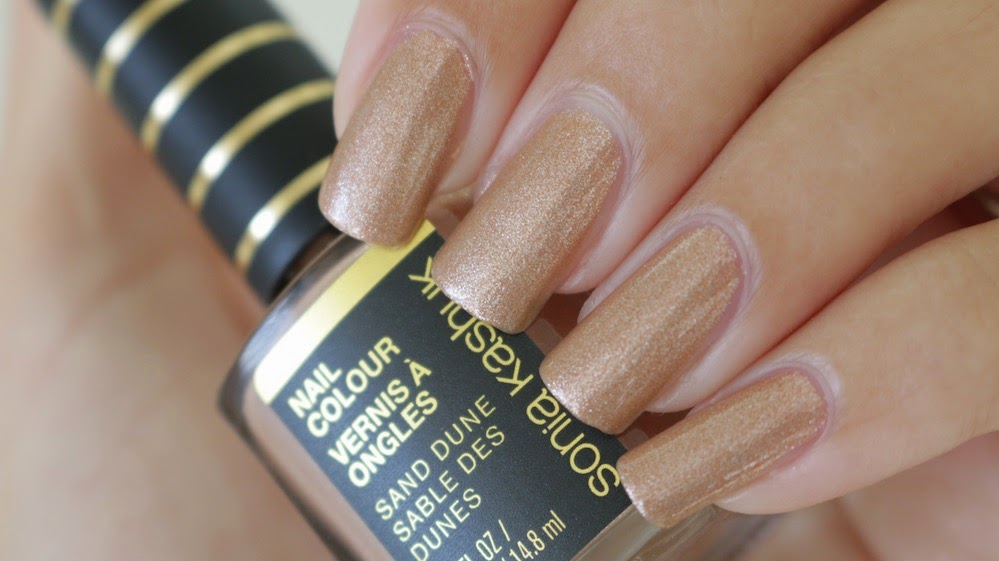 Sonia Kashuk Sand Dune Nail Colour Swatches
