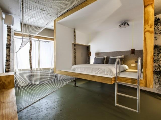 Ilia estudio interiorismo 9 dise adores participan en la for Diseno de habitacion de hotel