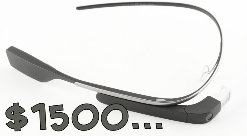 Google Glass - $1500 to be a public beta tester
