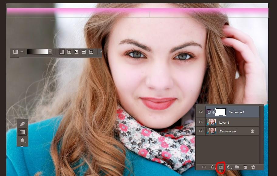 Membuat Efek Foto Gradient Layer Mask Dengan Photoshop