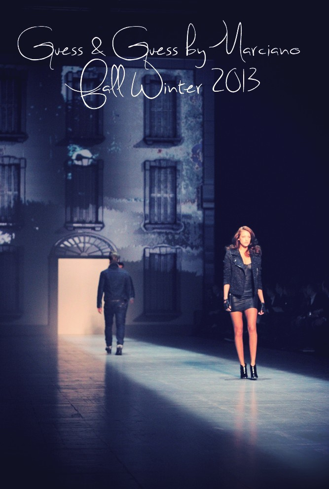 Guess Jeans and Guess by Marciano Fall Winter 2013