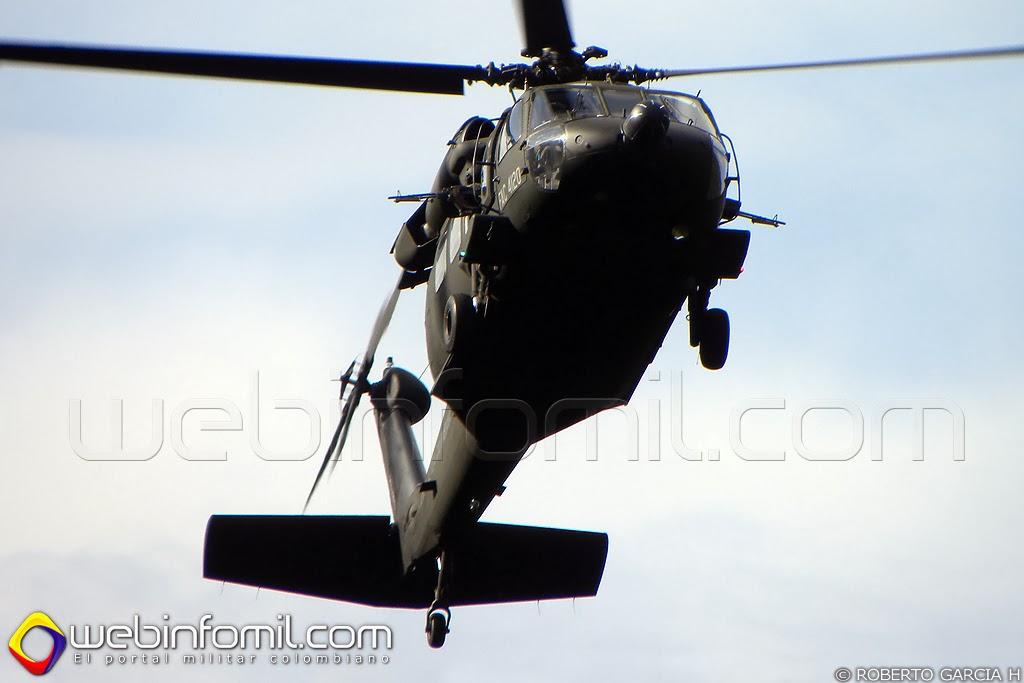 FAC4120 Black Hawk Fuerza Aerea Colombiana