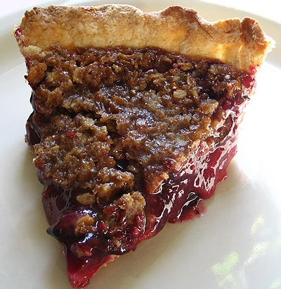 Concord Grape Pie Slice