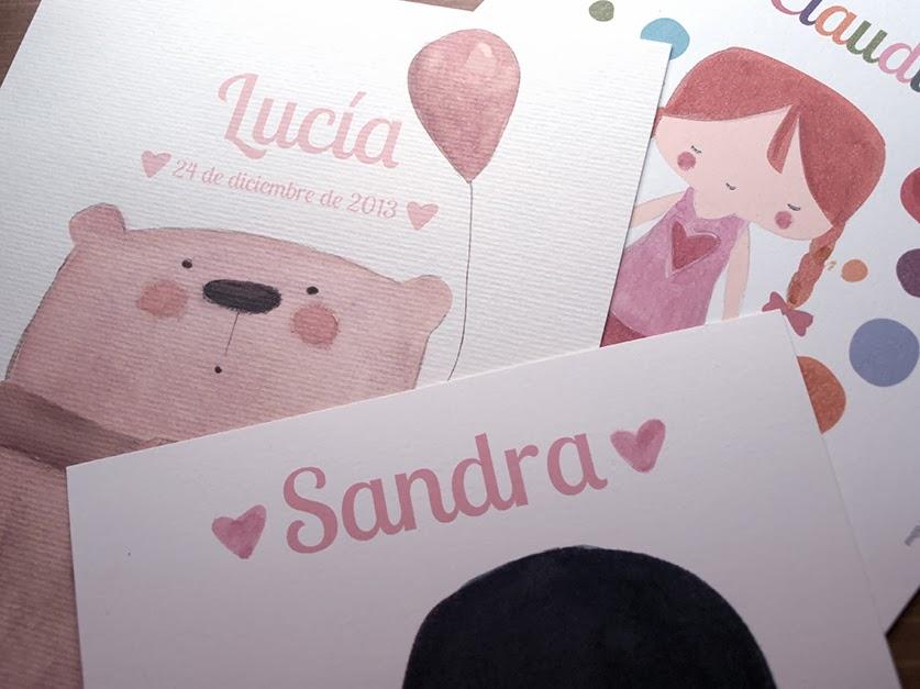 art prints personalizados niñas
