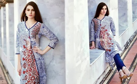 Classic Lawn Dresses Colors and Shades