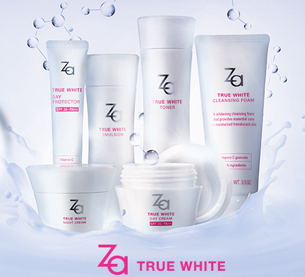 Za True White Ex and Perfect Solution Cleansing Foams Review