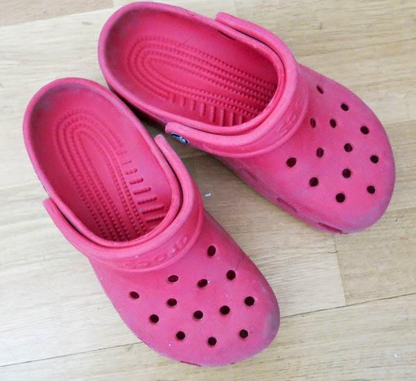 foppa-tollor, crocs