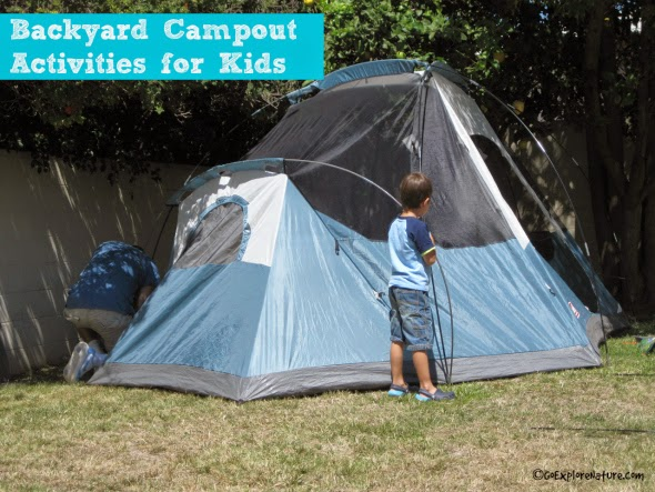 Backyard Campout Activities for Kids