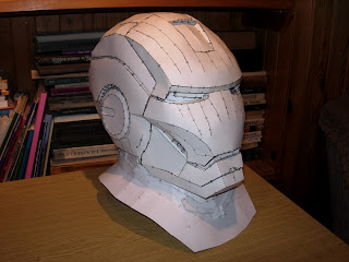 Iron Man Mark 42 Helmet Pepakura