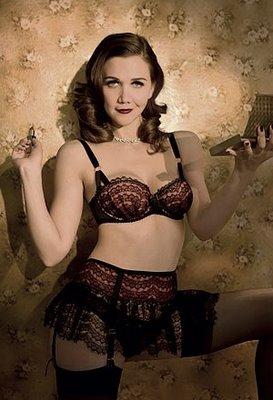 Maggie gyllenhaal lingerie assured
