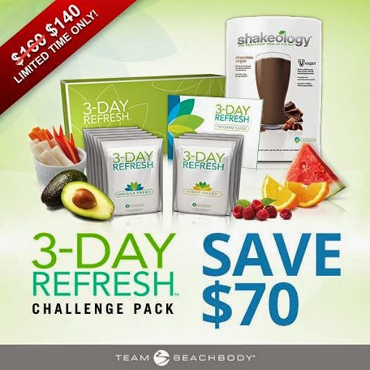 3 day refresh, cleanse,