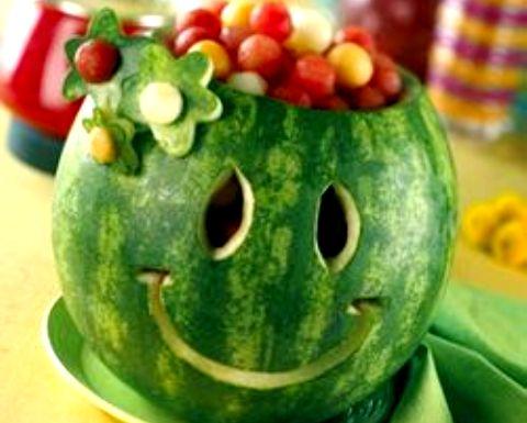decoração com melancia