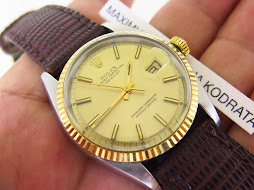 ROLEX OYSTER PERPETUAL DATE JUST GOLD DIAL - ROLEX 1601