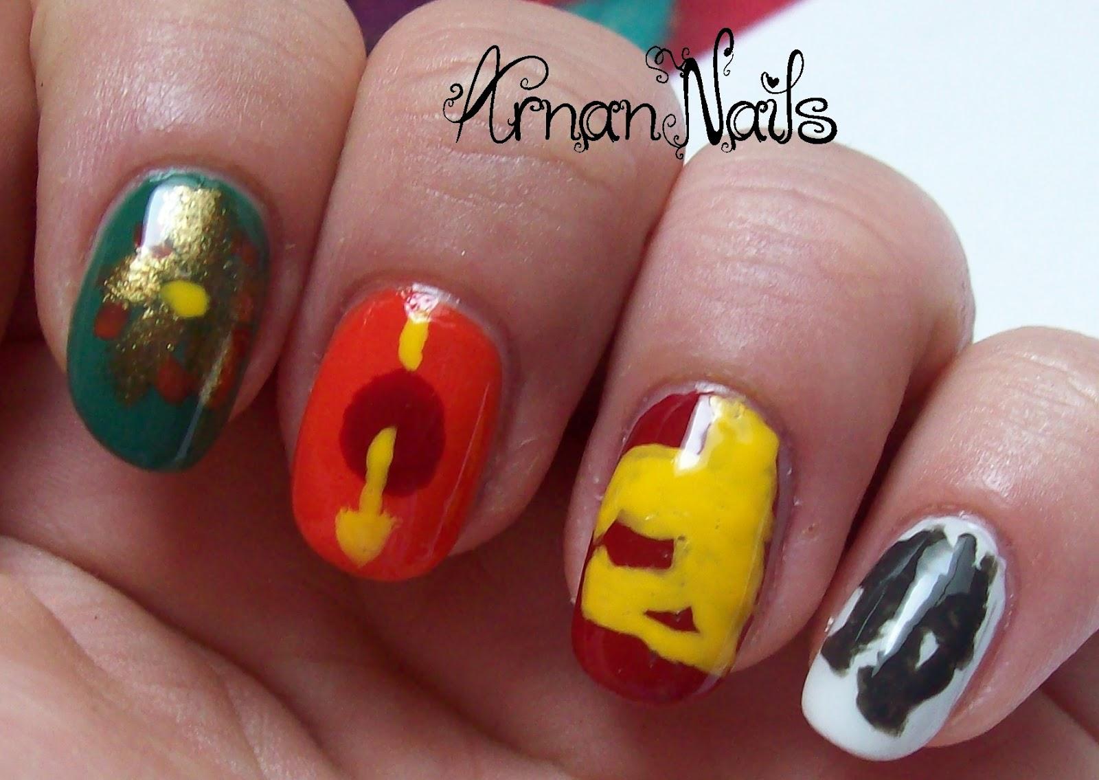 Arnan Nails: Game of Thrones Nails Season 2
