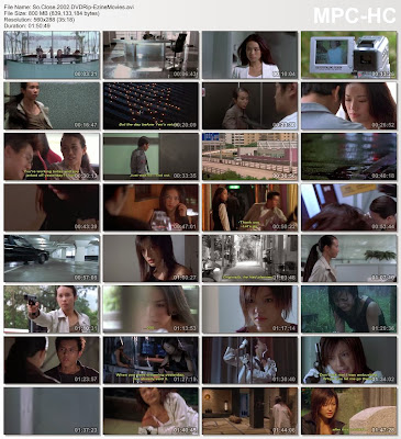 Download So Close 2002 DVDRip 800MB Hongkong Movies