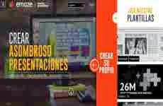 Emaze: para hacer presentaciones en HTML5 online gratis