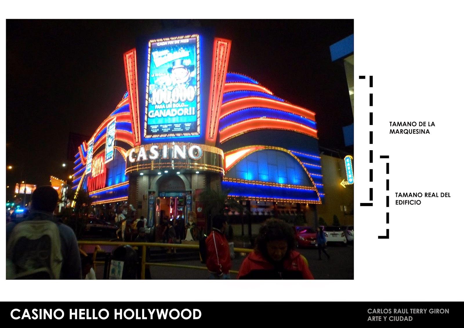 casino hello hollywood san miguel trabajo