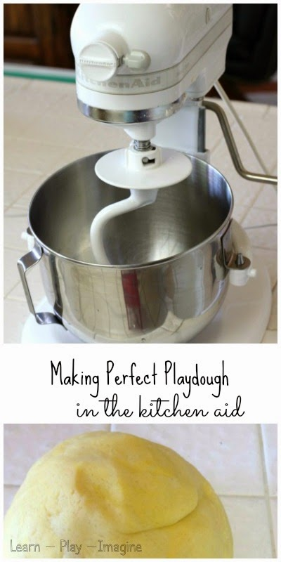 Make amazingly soft playdough with this no fail recipe!