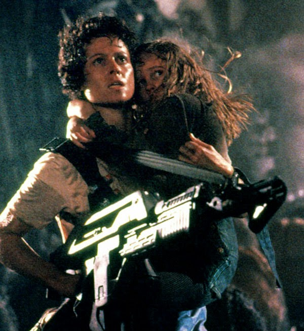 Ellen Ripley Aliens Sigourney Weaver action actresses