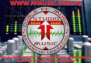 Publicidad Studio Doble FF Music