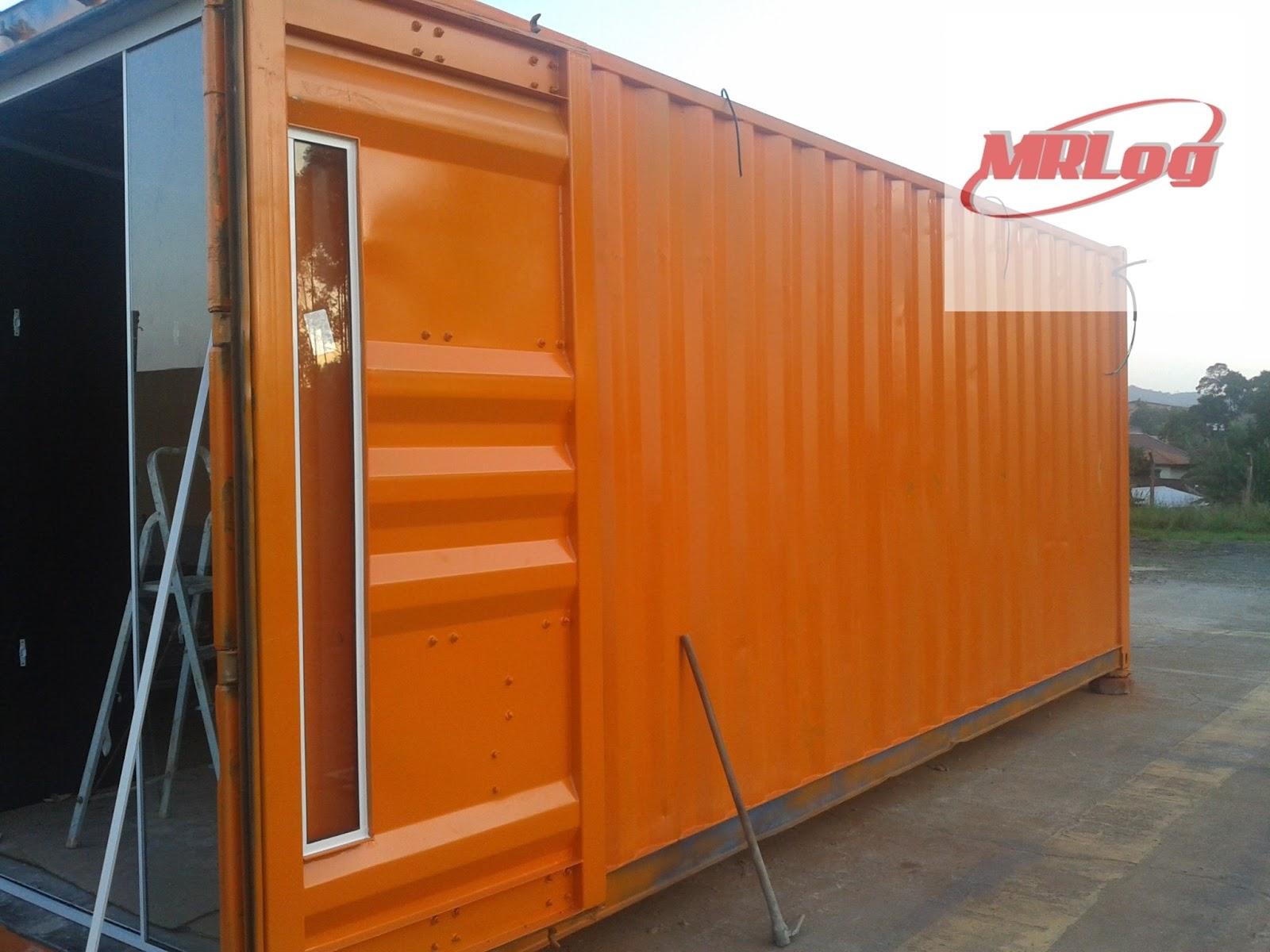 Container MRLOG venda e locação de container : Projeto loja de  #B95006 1600x1200 Banheiro Container Locação Sc