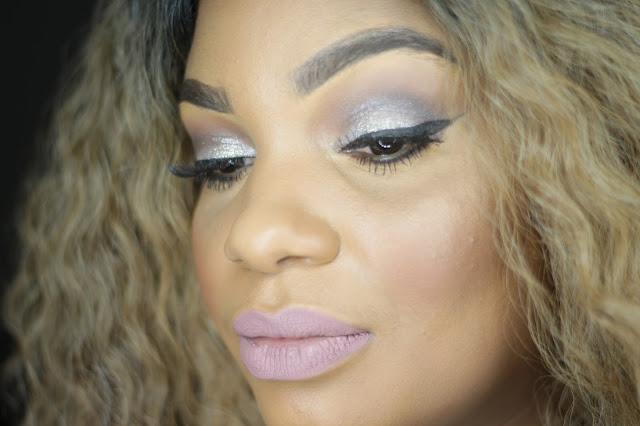 glitter eye makeup trap liquid lipstick colourpop