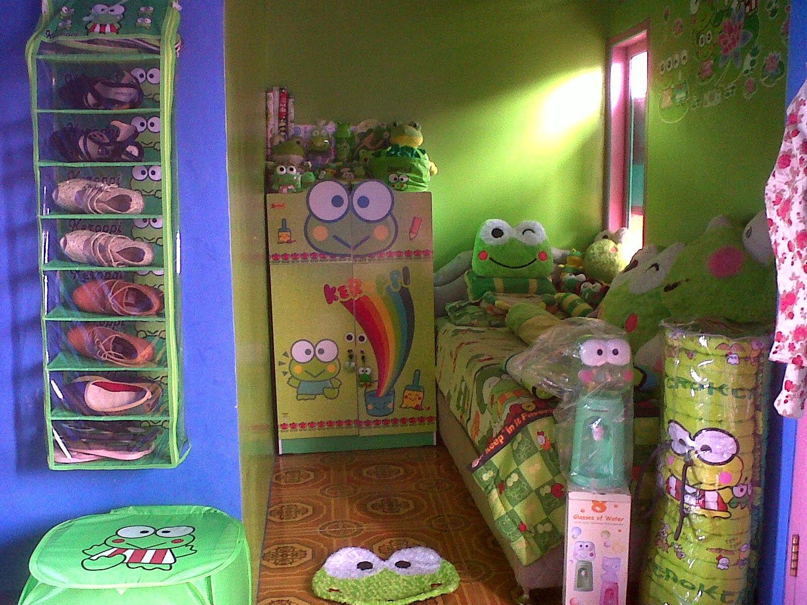 103 wallpaper dinding kamar keroppi | wallpaper dinding