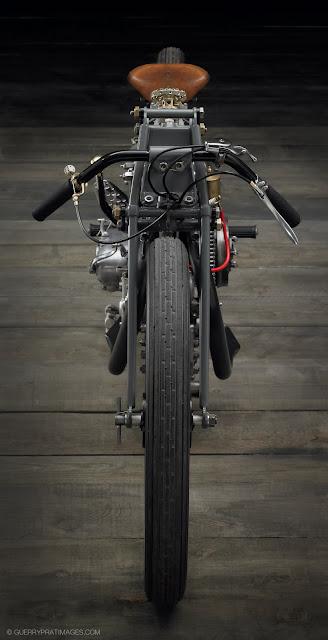 vintage-motorcycle-ART-The Rudge 'bitsa', built by Jean-Claude Barrois.