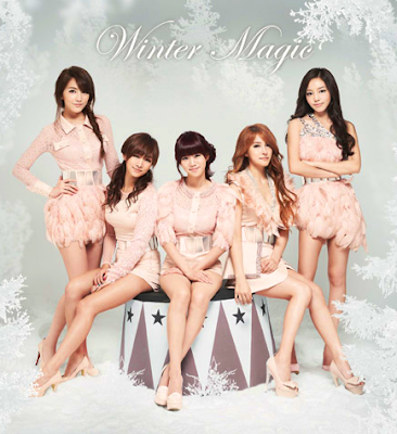 KARA Winter magic members