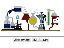 Robert Bunsen logo de Google