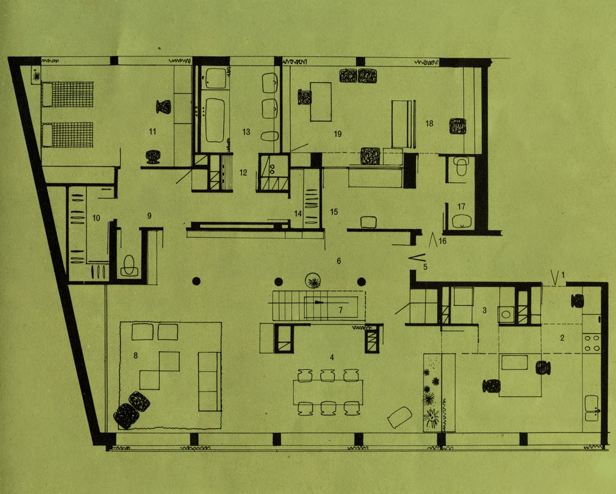 Exemple plan maison 100m2 for Plan maison contemporaine 100m2