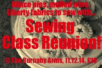 The 2014 Sewing Class Reunion